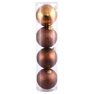 Vickerman 275″ Mocha 4 Finish Ball Ornament 20 per Box