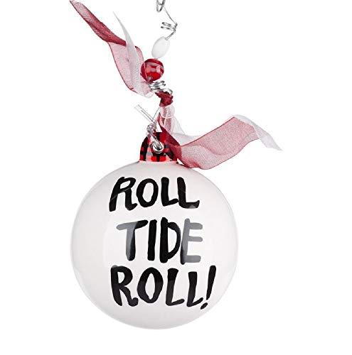 Glory Haus Alabama Mascot Ornament Roll Tide Roll