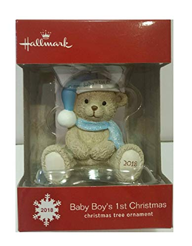 Hallmark 2018 Baby Boy's 1st Christmas Ornament