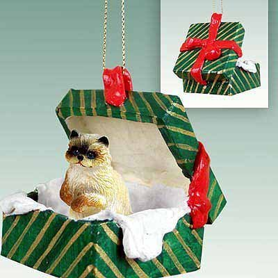 Conversation Concepts Ragdoll Cat Gift Box Christmas Ornament – Delightful