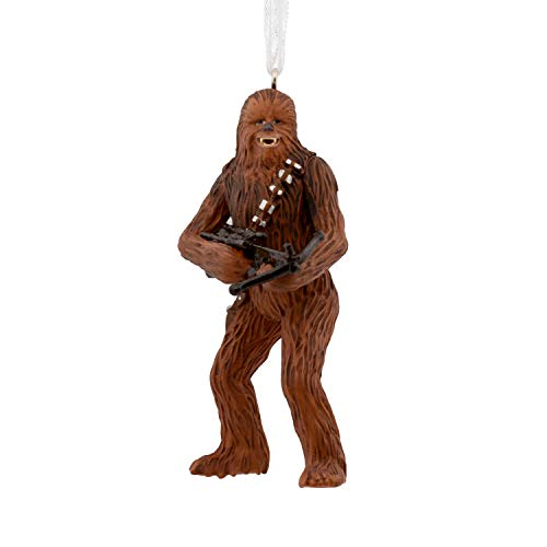 Hallmark Christmas Star Wars Chewbacca With Bowcaster Ornament