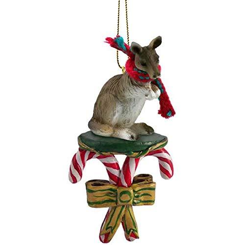 Conversation Concepts Kangaroo Candy Cane Ornament