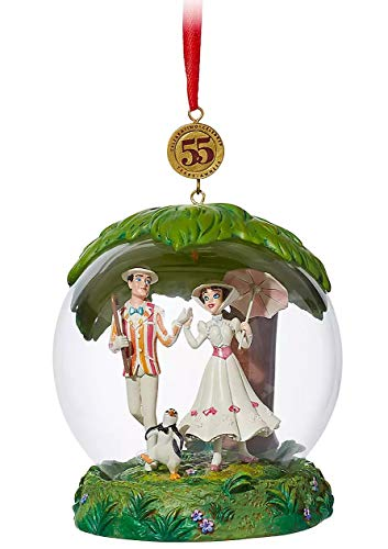 Ornament 2019 Mary Poppins Glass Dome Legacy Sketchbook Limited Release