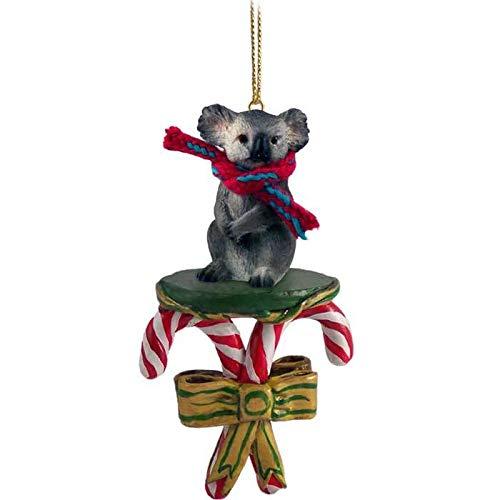Conversation Concepts Koala Candy Cane Ornament