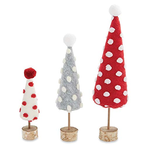 Mud Pie Pom Pom Felt Tree Sitter (Small)