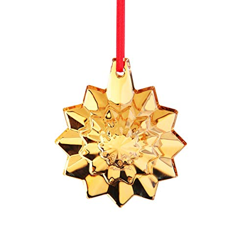 Baccarat Crystal Annual Ornament 2019 Gold