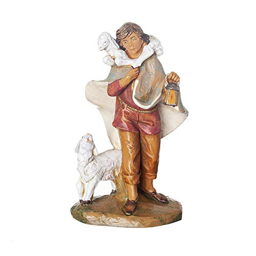 Fontanini, Nativity Figure, Paul The Shepherd, 7.5″ Scale