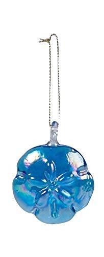 Beachcombers Coastal Life Decorative Beach Ornament with S-Hook (Light Blue Sand Dollar, 04002)
