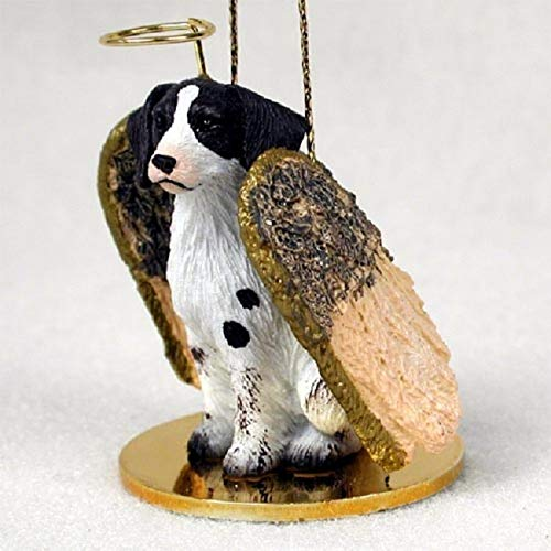 Conversation Concepts Brittany Liver & White Spaniel Pet Angel Ornament