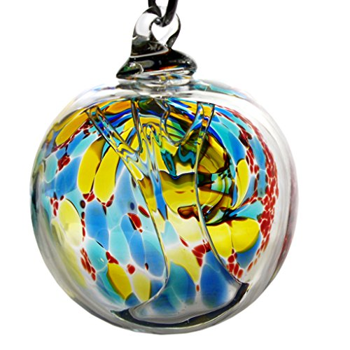Glass Eye Studio Spriit Ball Ocean Lave