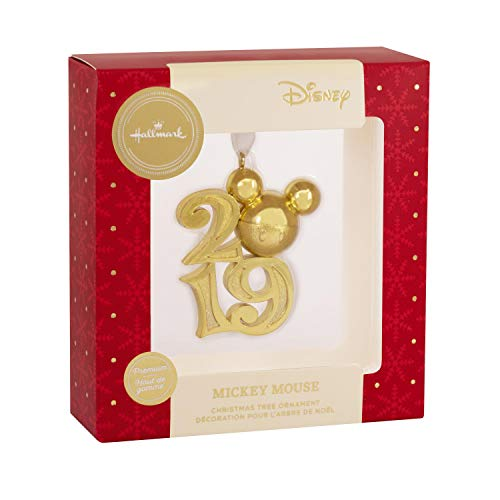 HMK 2019 Gold Mickey Disney Ornament
