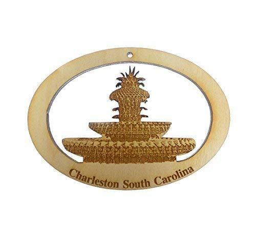 Pineapple Fountain Ornament – Charleston, South Carolina Ornament