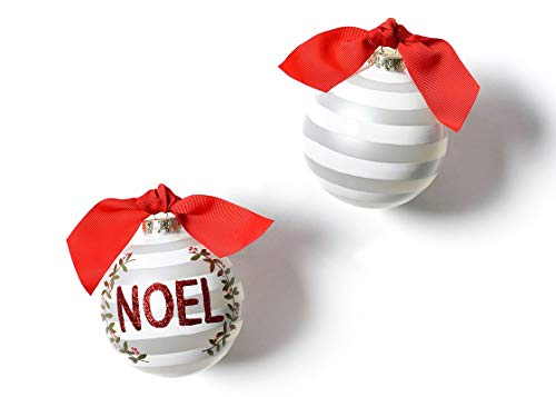 Coton Colors 100 MM Noel Berry Glass Ornament
