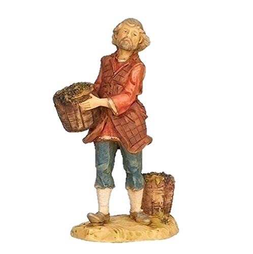 Fontaninin 54113 Divino Wine Merchant 5″ Scale Nativity Figurine