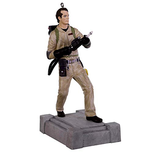 Hallmark Keepsake Christmas 2019 Year Dated Ghostbusters Dr. Peter Venkman Ornament with Sound