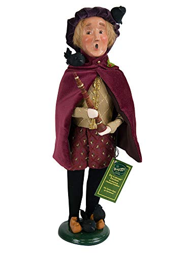 Byers' Choice 4 Calling Birds Caroler Figurine #734 from The 12 Days of Christmas Collection