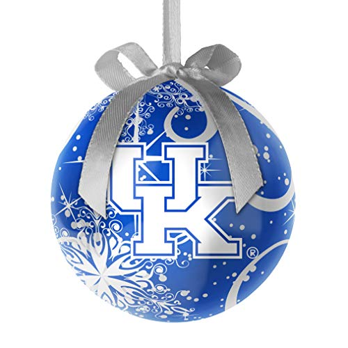 Topperscot NCAA Kentucky Wildcats Decoupage Ball Holiday Ornament