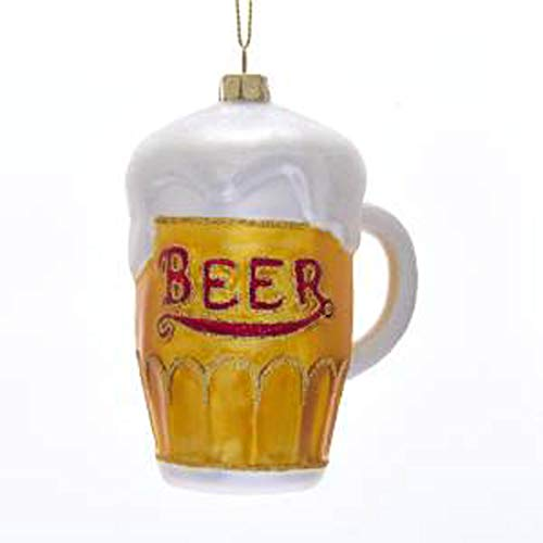 Kurt Adler Noble Gems Glass Beer Mug Ornament
