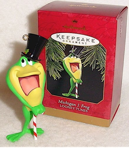 Hallmark Keepsake Ornament Looney Tunes: Michigan J. Frog (1997) QX6332