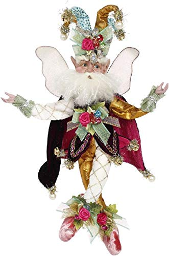 Mark Roberts Collectible Harlequin Christmas Fairy – Small 10″ #51-97150