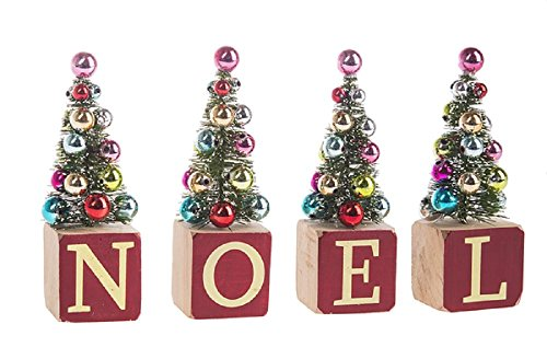 Ganz Noel Tree Figurines Home Decor