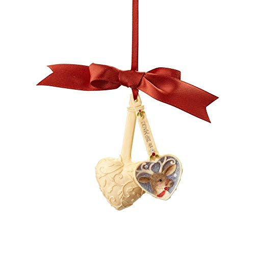 Heart of Christmas Hanging Ornament with S-Hook (A Teaspoon of Magic, 4057661)