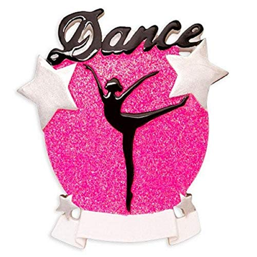 Polar X Dance Silhouette Personalized Christmas Ornament
