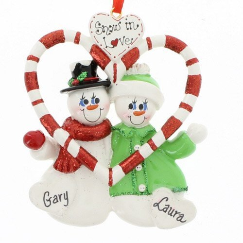 Snow in Love Couple