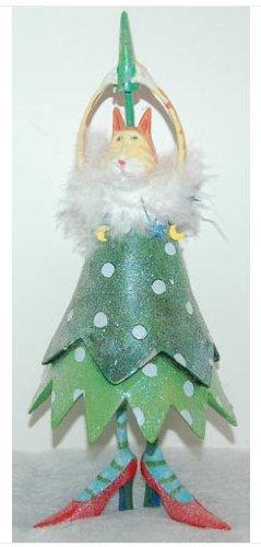 Patience Brewster Christmas Krinkles Cat Figure Retired – Ornaments 56-36626KRINK