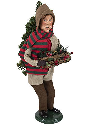 Byers' Choice Tree Trimmer Man Figurine 4848 from The Specialty Carolers Collection
