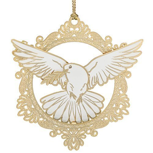 Beacon Design by ChemArt Christmas Dove Ornament