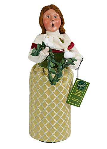 Byers' Choice 2 Turtledoves Caroler Figurine #732 from The 12 Days of Christmas Collection