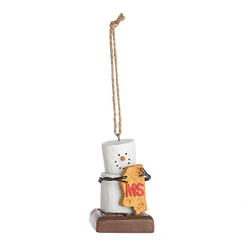 """Midwest CBK S'mores """"Mississippi"""" Ornament"""