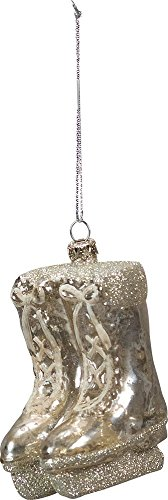 Primitives By Kathy Glass 3 inches Tall Hanging Ornament – Ice Skates