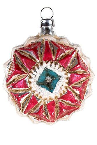 Marolin American Kaleidoscope MA2011086 German Glass Ornament w/Gift Box