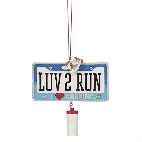 Love To Run Ornament