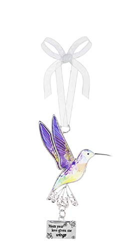 Ganz Decor Life is Beautiful Hummingbird Ornament 3.75″ H (Mom Your Love Gives me Wings)
