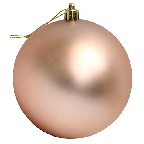 Vickerman 444030-3″ Rose Gold Matte Ball Christmas Tree Ornament (12 pack) (N590858DMV)