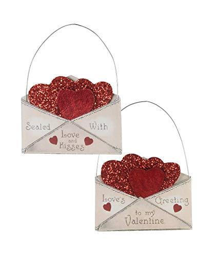Bethany Lowe Valentine Envelope Ornament Set