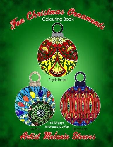 Fun Christmas Ornaments Colouring Book