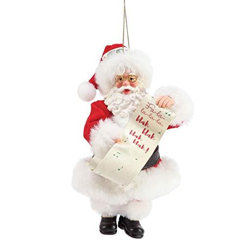 Department 56 Possible Dreams FA La Personalizable Hanging Ornament, 6 Inch, Multicolor