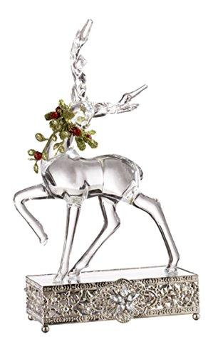 Ganz Light Up Mistletoe Krystal Reindeer