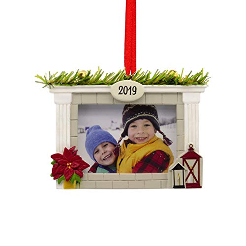 Hallmark Holiday Photo Holder Dated 2019 Tree Trimmer Ornament