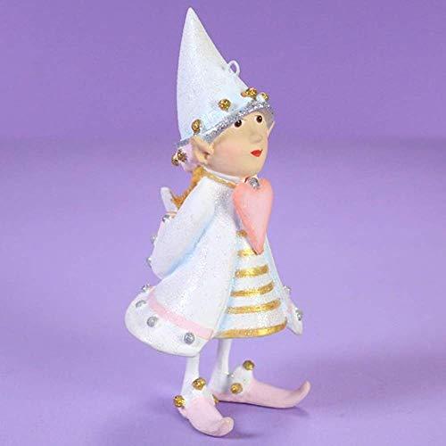 Patience Brewster Moonbeam Cupid's Heart Elf Figural Ornament # 31253