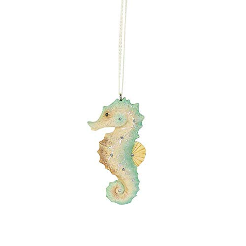 Heart of Christmas Hanging Ornament with S-Hook (Seahorse, 6004111)