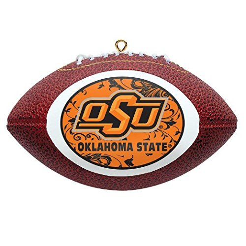 NCAA Oklahoma State Cowboys Mini Replica Football Ornament