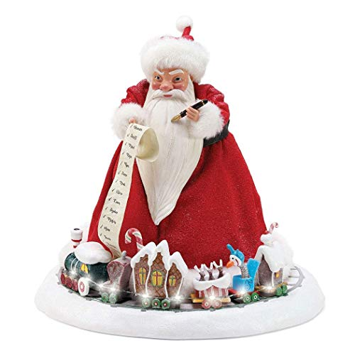 Department 56 Nightmare Before Christmas Sandy Claws, 10.5″ Figurine, Multicolor