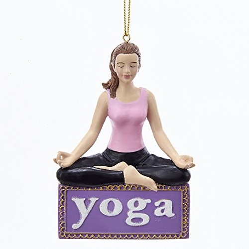 Kurt Adler Yoga Christmas Ornament