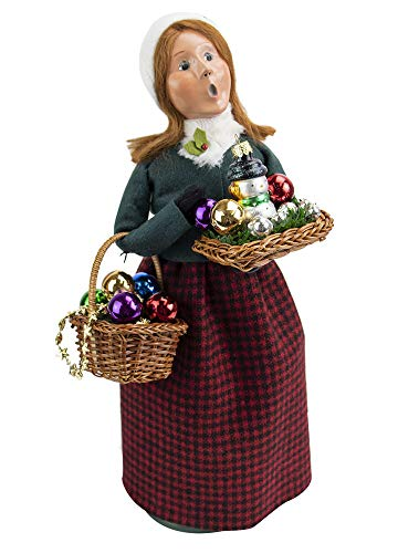 Byers' Choice Glass Ornament Woman 4471E from The Christmas Market Collection Collection (New 2020)