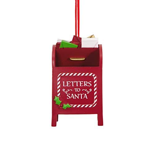 HMK Hallmark Santa Mailbox Tree Trimmer Ornament